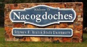 Welcome to Nacogdoches
