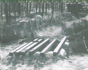 Soldier Building Bunker